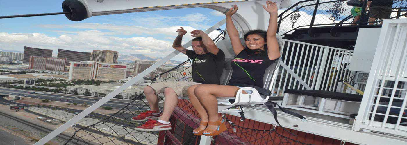 VooDoo ZipLine, a new thrill ride between two of Rio's towers! memorable and popular Las Vegas thrill rides, Book your ride today! Call - (702) 388 0477